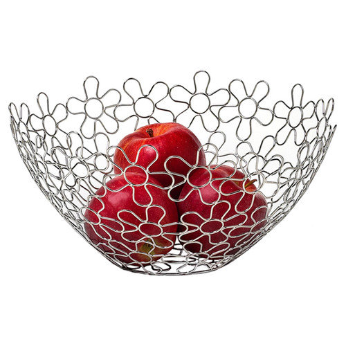 Spectrum Diversified Flowers Fruit Basket