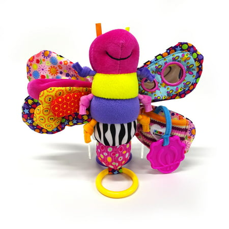 Lamaze Clip & Go Fifi the Firefly Infant Toy, Baby Car Seat Toy, Plush Stroller Toy (Lamaze Take Along Toy)