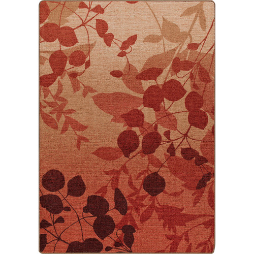 Milliken Mix and Mingle Sierra Red Nature's Silhouette Rug
