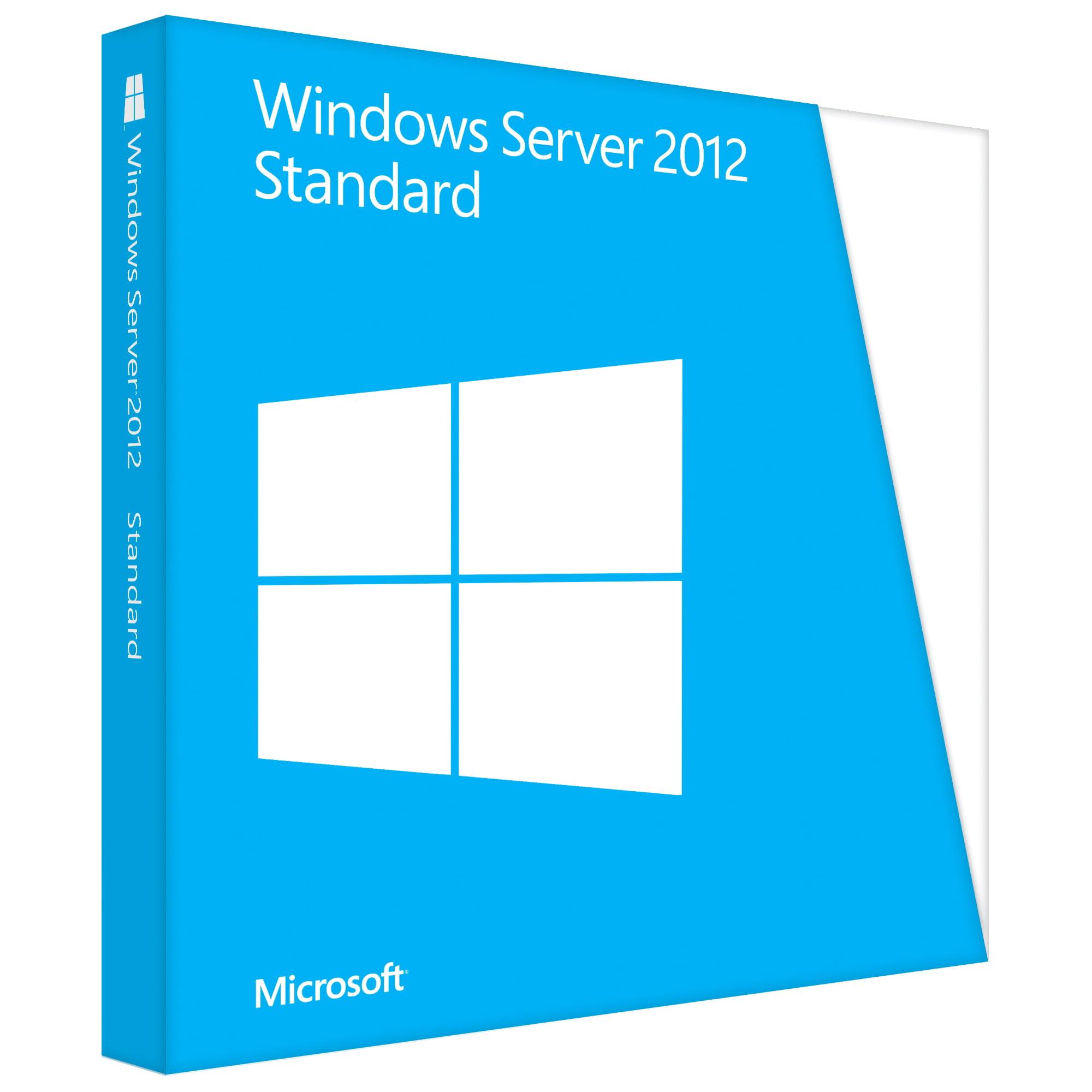 Microsoft Windows Server Standard 2012 64-Bit by Microsoft