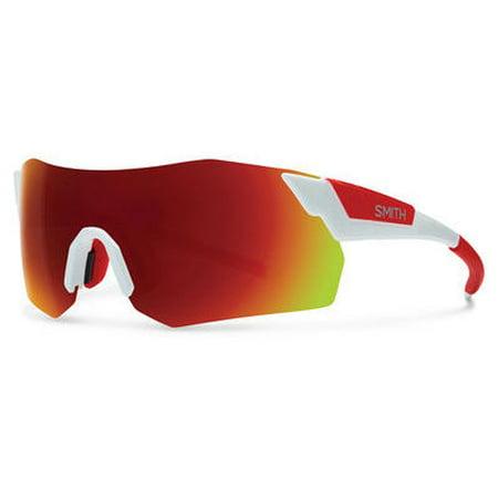 Smith SMT PivArenaMax Sunglasses 0VK6 (White Smith Sunglasses)
