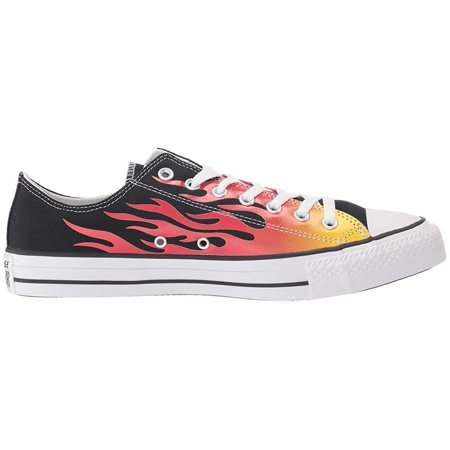 Converse Chuck Taylor All Star Canvas Archive Flame Print - Ox Black/Enamel Red/Fresh Yellow Chuck Taylor Flame