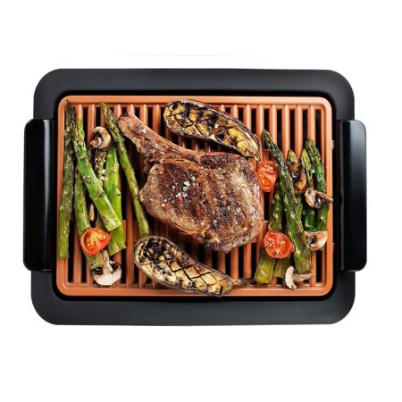Gotham Steel Smokeless Electric Grill with Non-Stick