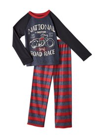 d32f5aed96 Komar Kids Boys  2-Piece National Road Race Pajama Set