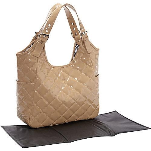 JP Lizzy Crema Diaper Bag Satchel