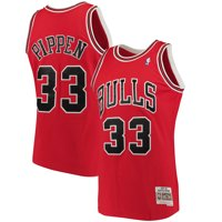 the latest ea43e a736a Product Image Scottie Pippen Chicago Bulls Mitchell   Ness Big   Tall  Hardwood Classics Jersey - Red