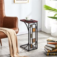 Deals on Easyfashion Traditional C Shaped End Table
