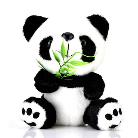 Lv. life Adorable Cute PANDA Bear Stuffed Animal Plush Soft Doll Toys For Kids XMAS Gift,Doll Toys For Kids