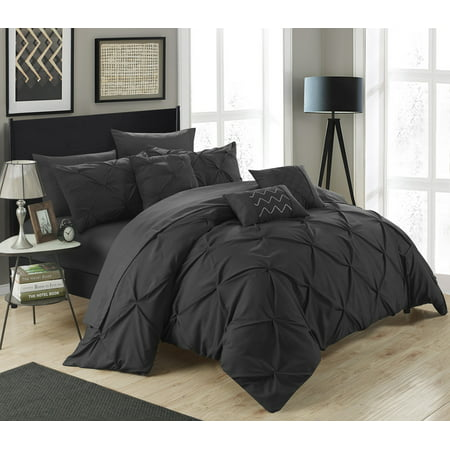 Collection Bed Complete Set (Chic Home Valentina 10 Piece Bed in a Bag Comforter Set )
