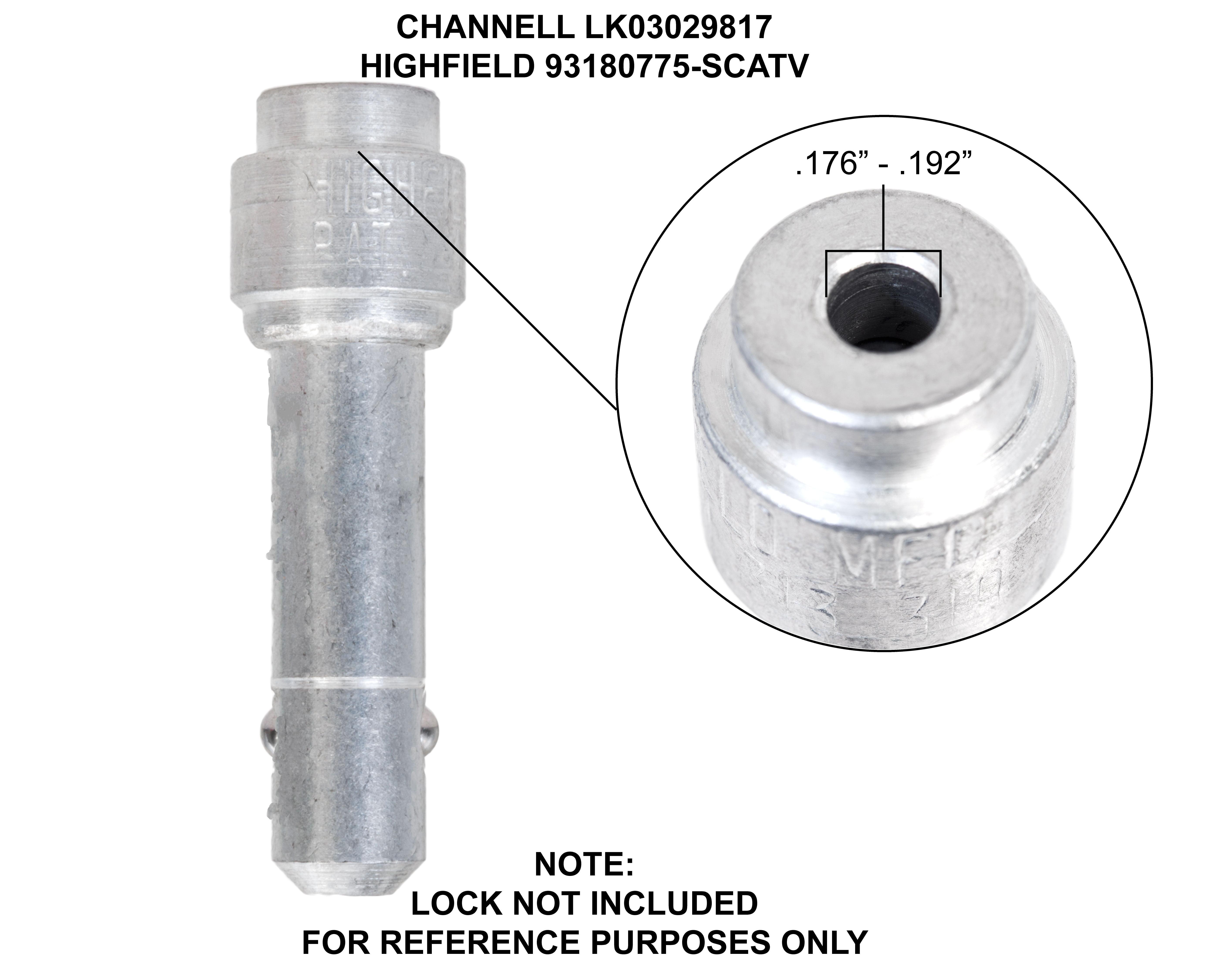 Barrel Lock Red Plunger Key Water Gas Meter Tool Barrel Lock Compat Resistant