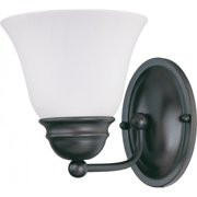 Nuvo Empire - 1 Light 7 inch Vanity w/ Frosted White Glass