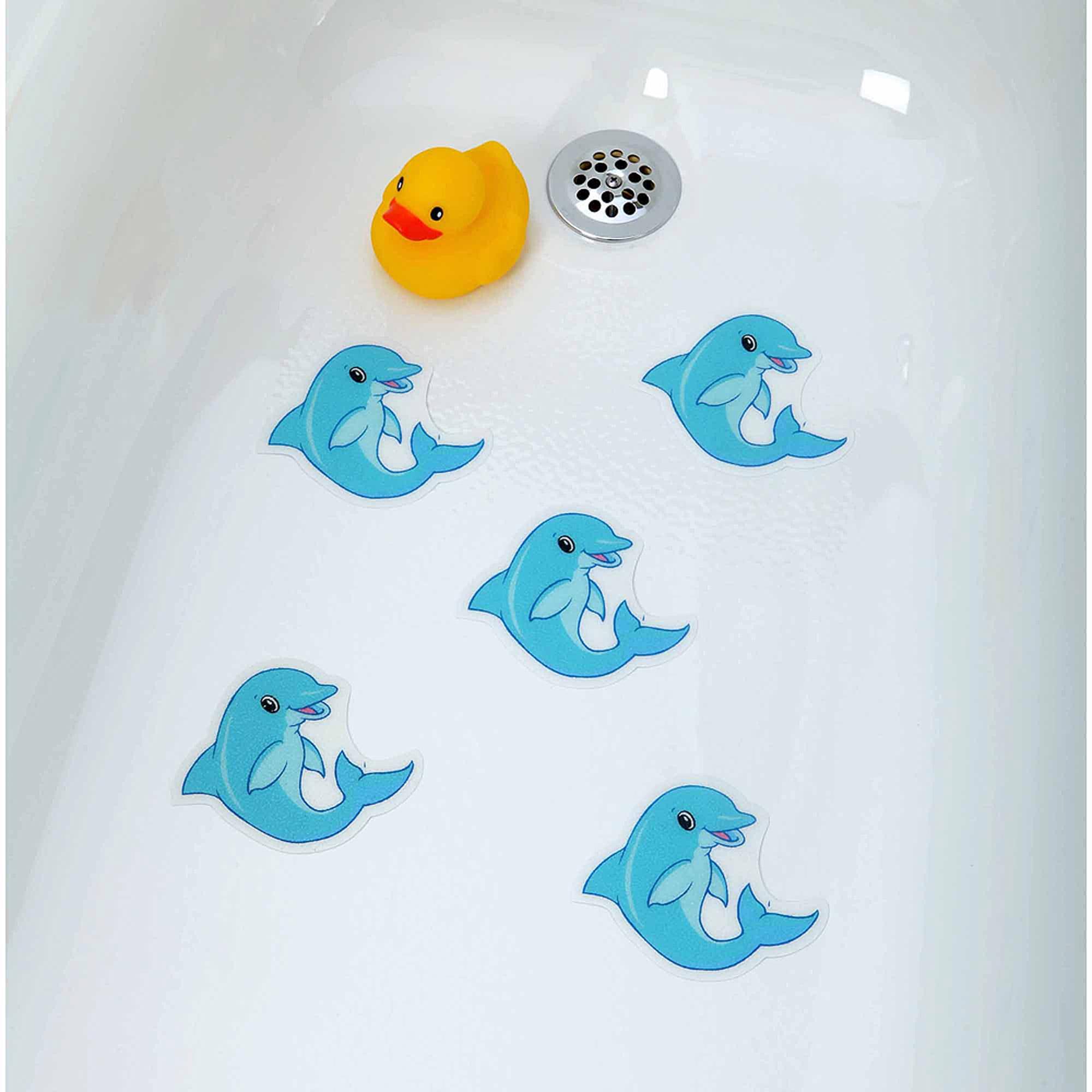 SlipX Solutions Dolphin Tub Tattoos