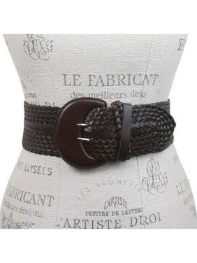 de284a6bc Product Image Women's High Waist Braided Woven Full Grain Leather Belt