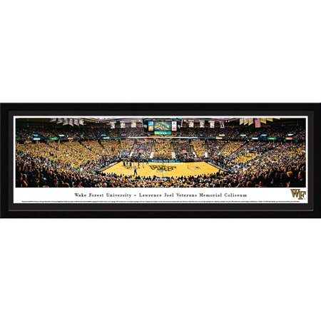 - Wake Forest Demon Deacons Basketball at Lawrence Joel Veterans Memorial Coliseum - Blakeway Panoramas NCAA College Print with Select Frame and Single Mat