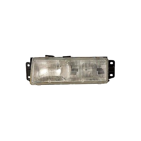 Dorman 1590123 Headlight For Oldsmobile Cutlass Ciera, Clear