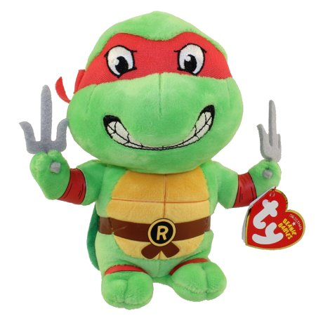TY Beanie Baby - RAPHAEL (Teenage Mutant Ninja Turtles) - Ninja Turtles Stuffed Animals