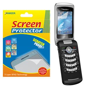 Clear Screen Protector Scratch Guard Shield for BlackBerry Pearl 8230, BlackBerry Pearl 8220