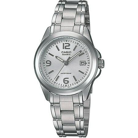 Women's Silver Dial Watch, Stainless-Steel Bracelet