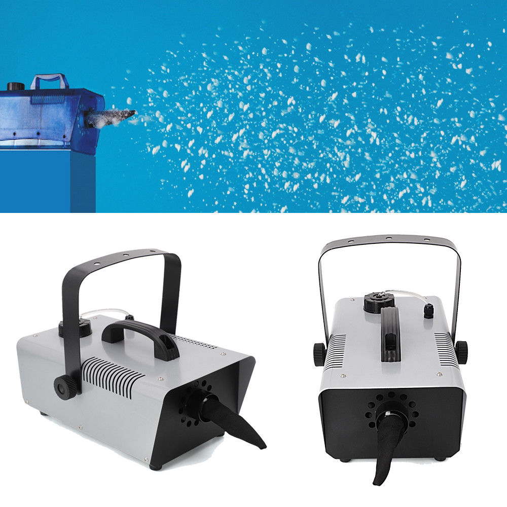 Ktaxon Mini Flurry Snow Machine Stage Effect with Wired Remote for Holiday Stage Show