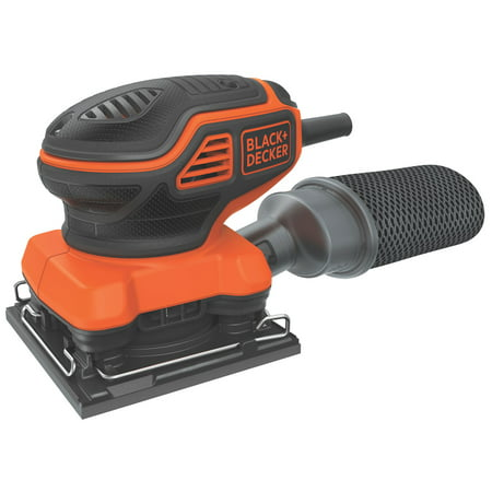 BLACK+DECKER 1/4-Inch Sheet Orbital Sander, 2-Amp,
