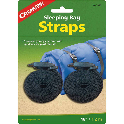 Coghlan's Sleeping Bag Straps, 2 Pack