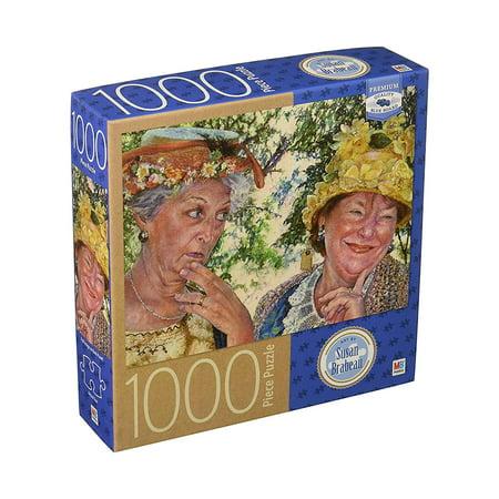 Best Friends Art by Susan Brabeau 1000 Piece Puzzle By Milton Bradley
