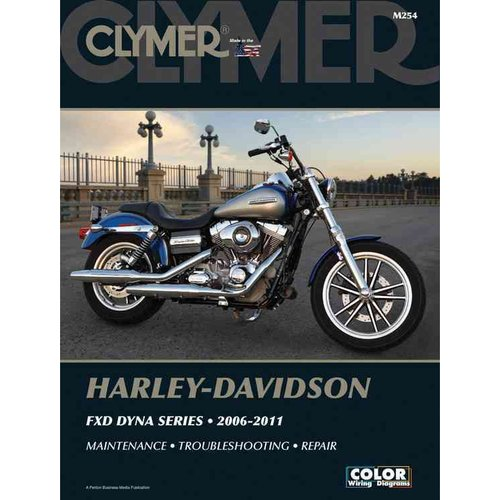 Clymer Harley-Davidson FXD Dyna Series: 2006-2011