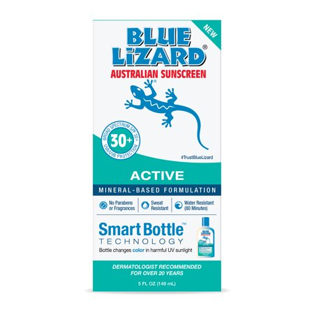 Blue Lizard Australian Sunscreen Active, SPF 30+, 5oz