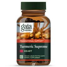 Vitamins & Supplements: Gaia Herbs Turmeric Supreme Heart