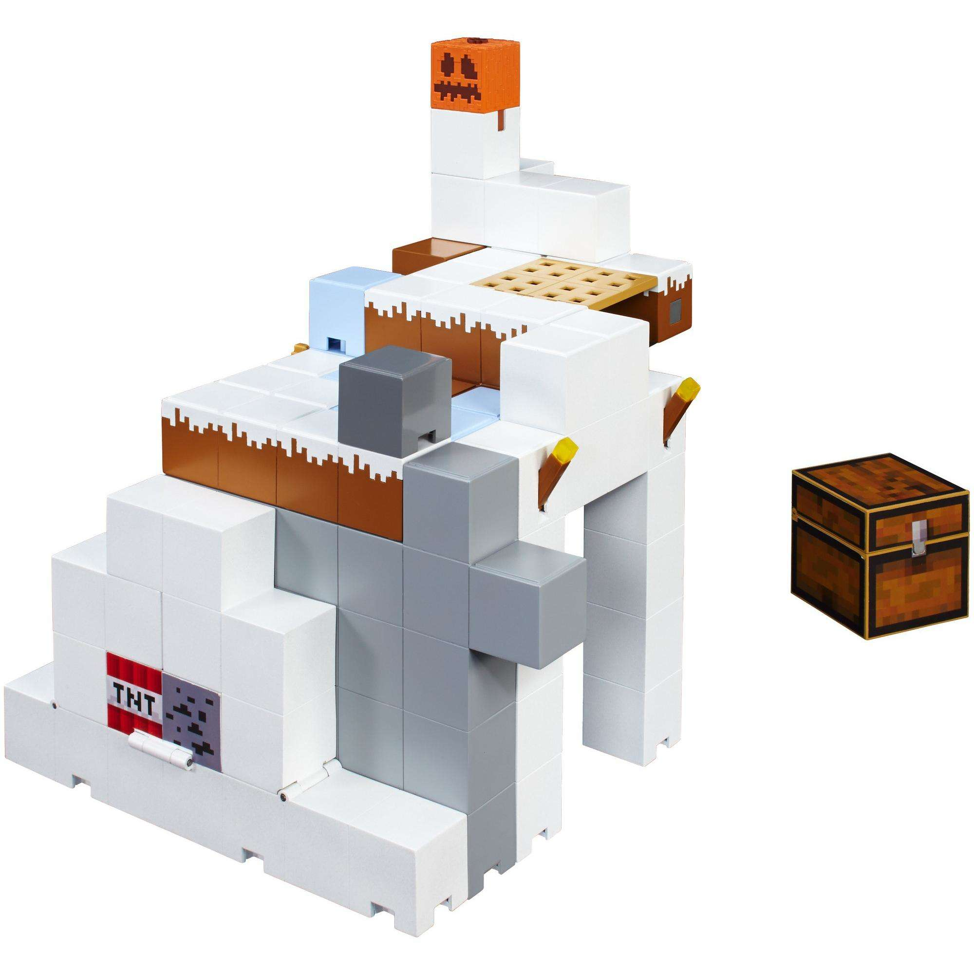 Minecraft Tundra Tower Expansion Playset by MATTEL BRANDS A DIVISION OF MATTEL DIRECT IMPORT INC
