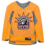 New York Rangers Team-Issued #54 Yellow Practice Jersey - Size 56 - Fanatics Authentic Certified