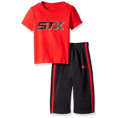 (Active Performance Short Sleeve Tee and Fleece Pant 2 Piece Set (Big Boys))
