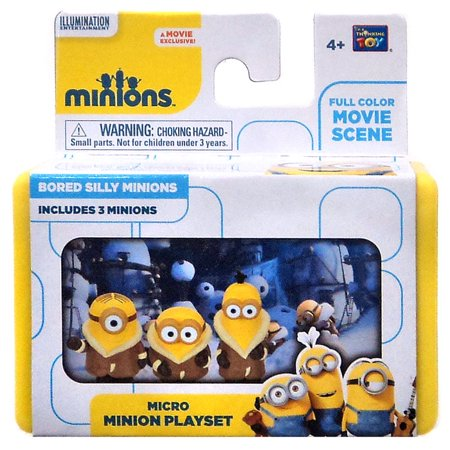 Despicable Me Minions Movie Bored Silly Minions Micro - Minion Movie Characters