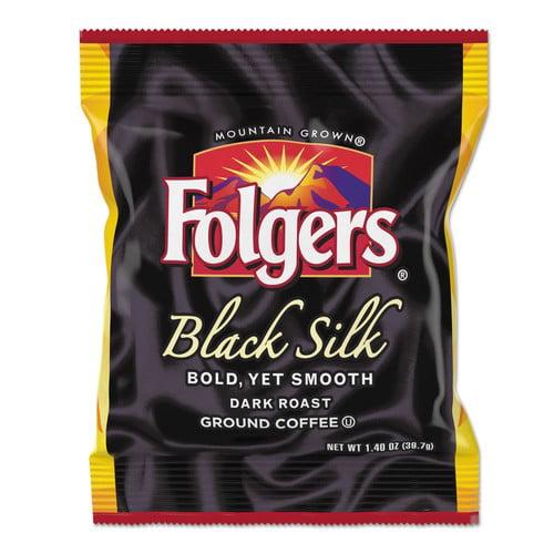 Folgers® Coffee, Black Silk, 1.4 oz Packet, 42/Carton