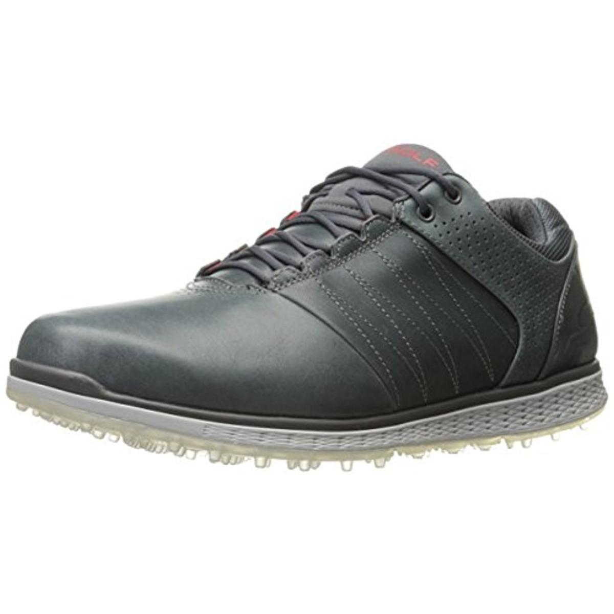 Skechers Mens Go Golf Leather Waterproof Golf Shoes by Skechers