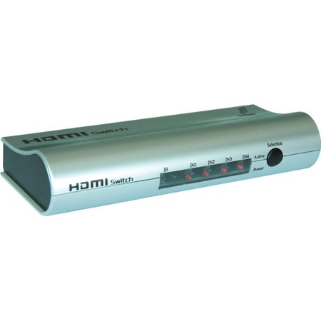 High Definition HDMI 4 Source Input and 1 Source Output Wireless Operated Switcher - image 1 de 1