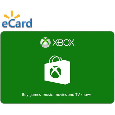 Xbox Digital Gift Card $60 (Email Delivery) (Playstation 3 Gift Card 50)