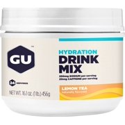 GU Hydration Drink Mix: Lemon Tea, 24 Serving Canister