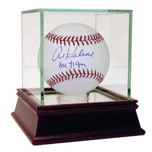 """Steiner Al Kaline Signed MLB Baseball w/ """"Mr. Tiger"""" Insc."""