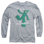 Gumby Flex Mens Long Sleeve Shirt