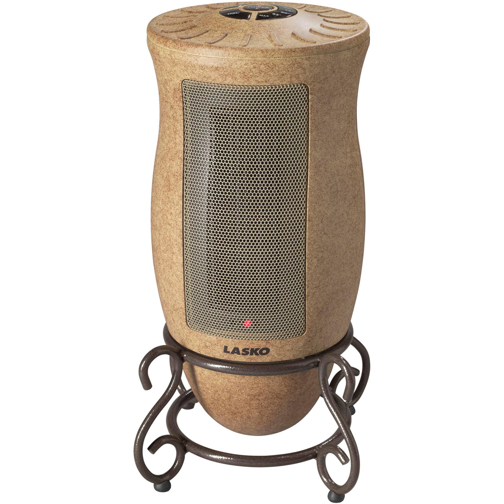Lasko Designer Series Oscillating Ceramic Electric Portable Space Heater