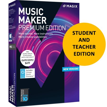 Magix Music Maker 2018 Premium for Students & Teachers
