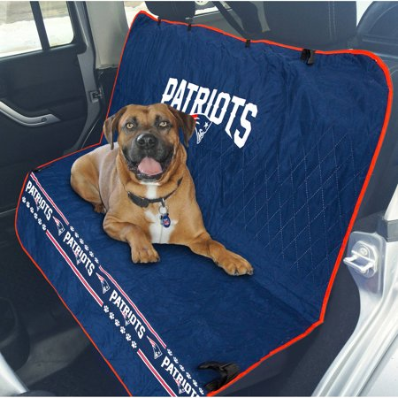 Pets First NFL New England Patriots Car Seat Cover