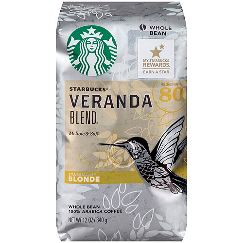 Starbucks Blonde Veranda Blend Whole Bean Coffee, 12 oz
