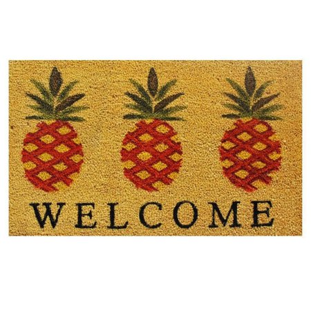 Pineapple Welcome Doormat ()