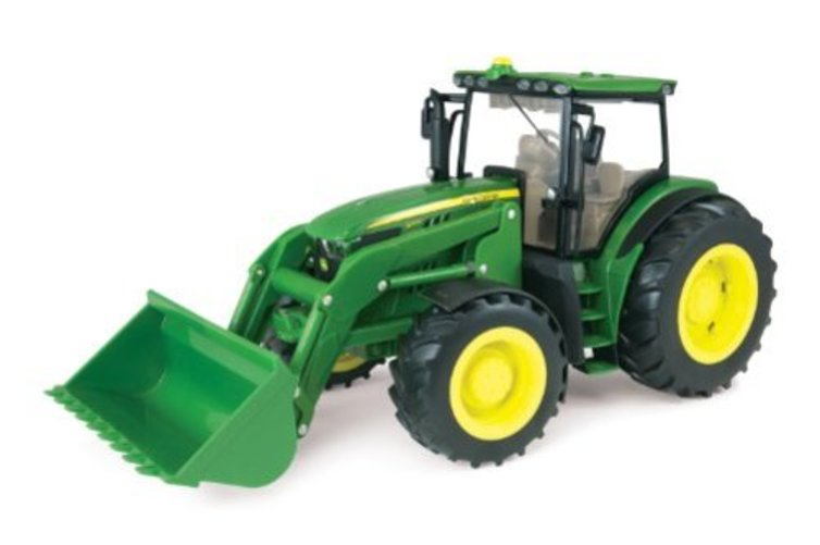 1:16 John Deere 6210R Big Farm Tractor by TOMY