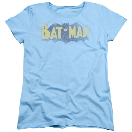Womens Batman Shirt (Batman Vintage Logo Womens Short Sleeve)