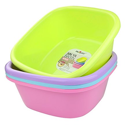"Anbers 12-Quart Dish Pan / Wash Basin, 13"" x 13"" x 5.12"", Set of 4 - image 1 de 1"