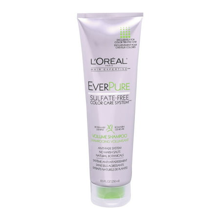 Loreal Paris Everpure Sulfate Free Anti Fade Volume Shampoo 8 5 Fl Oz