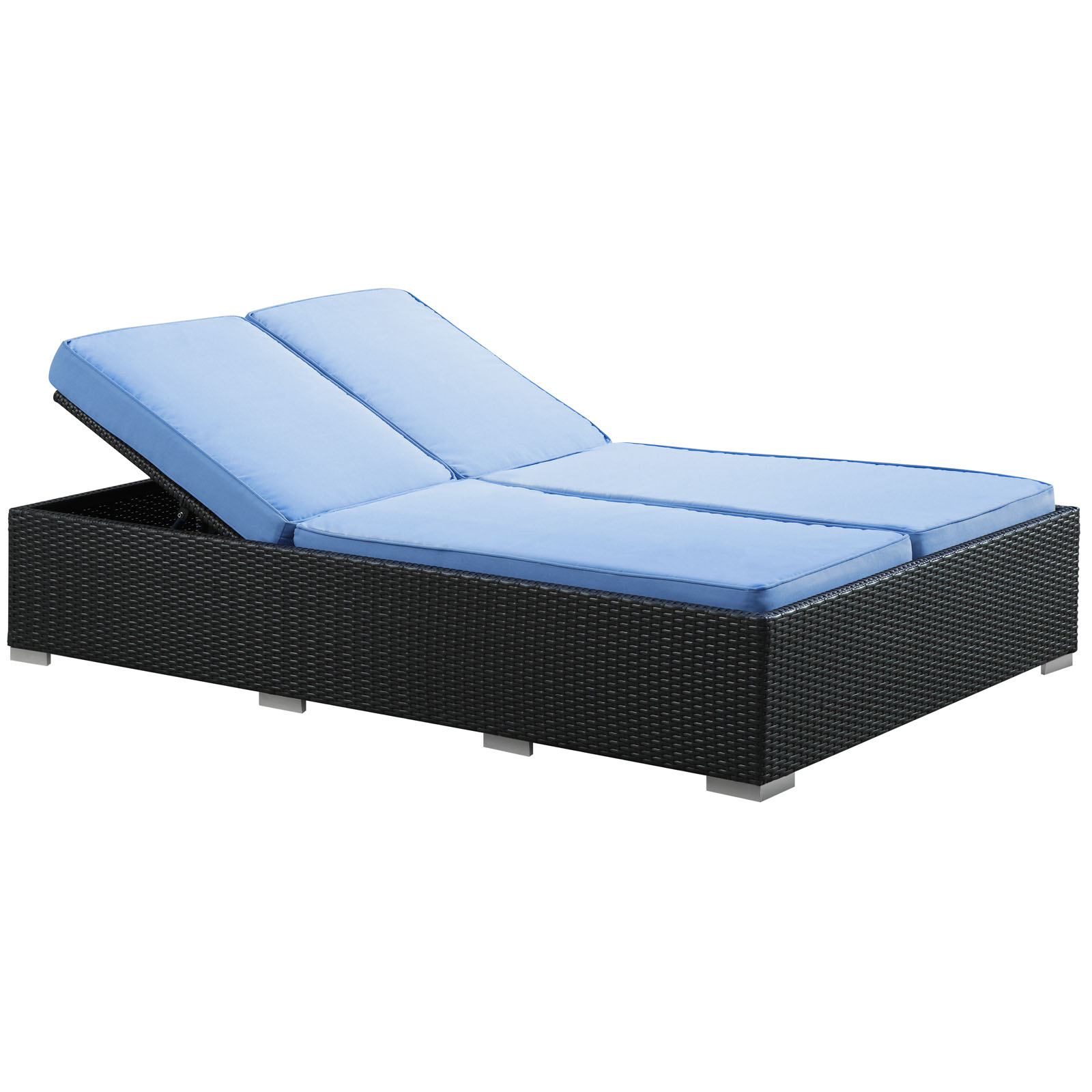 Evince All-Weather Wicker Chaise Lounge